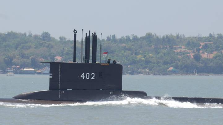 Navy Submarine In Indonesia Suddenly Disappears, Sparking Search