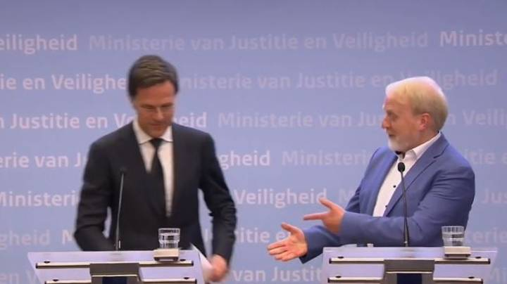 Dutch Prime Minister Tells People Not To Shake Hands Then Shakes Hands