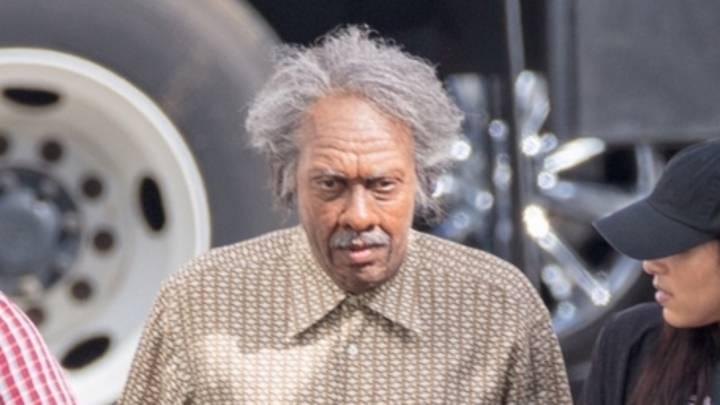 Arsenio Hall Seen In Costume As Reverend Brown For Coming To America 2