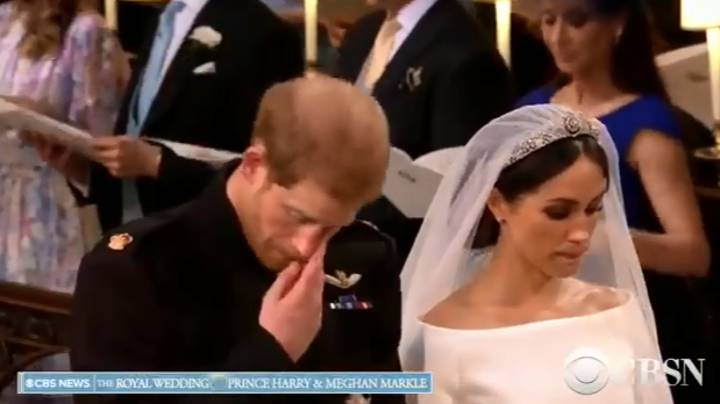 Royal Wedding 2018: Prince Harry Sheds Tear During Hymn From Diana's Funeral