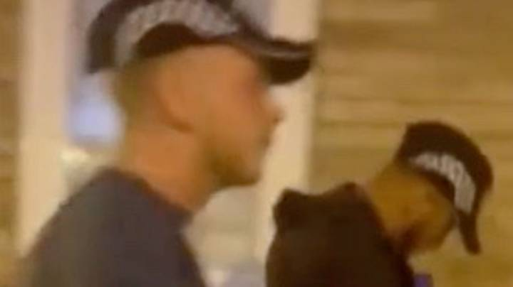 Video Shows Two Men Impersonating Police Officers And Searching A Flat