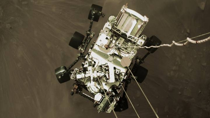 NASA's Mars Perseverance Rover Sends Back First Ever Sound From Mars