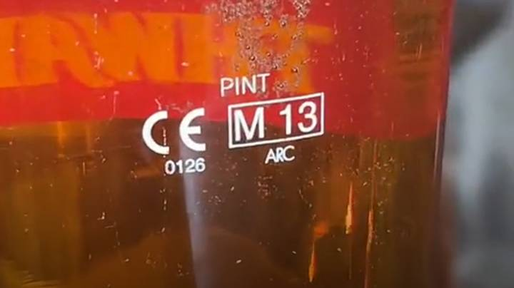 Pub Manager Reveals What Number On Pint Glass Means