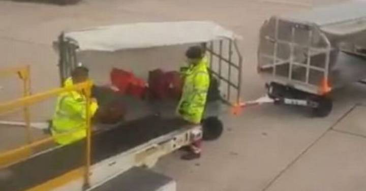 Manchester Airport Vows To Crack Down On Baggage Handlers After They're Caught Damaging Luggage
