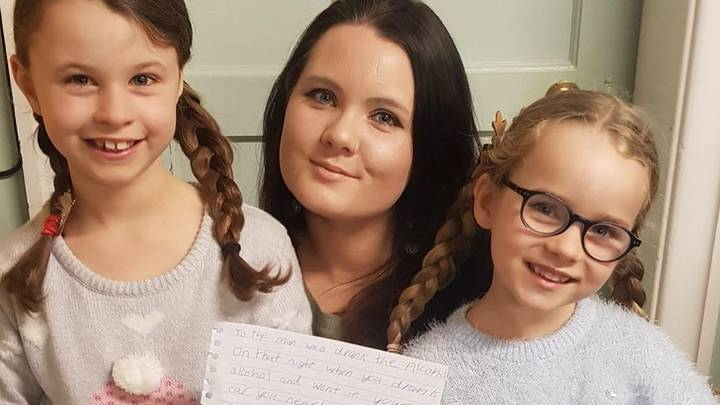 Girl, 8, Writes Letter To Drunk Driver Who Nearly Killed Her Mum