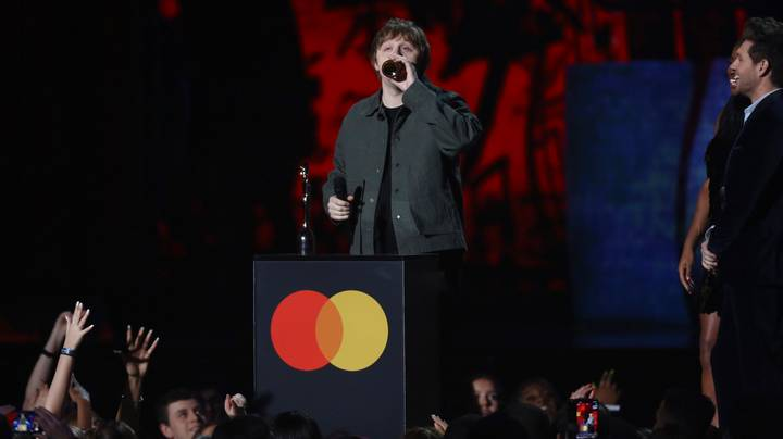 Lewis Capaldi's BRIT Awards Acceptance Speech Bleeped Out Of TV Broadcast
