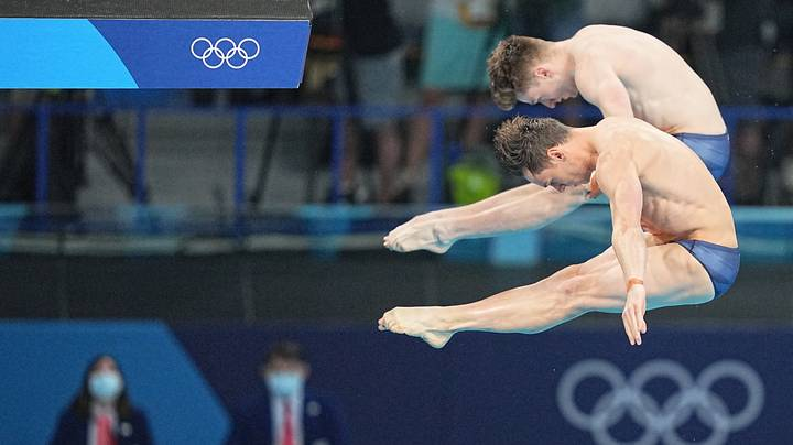 Team GB's Tom Daley And Matty Lee Have Won Gold At The Tokyo Olympics