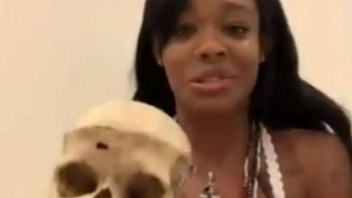 Azealia Banks Claims She Owns The Skull Of A Six-Year-Old Girl