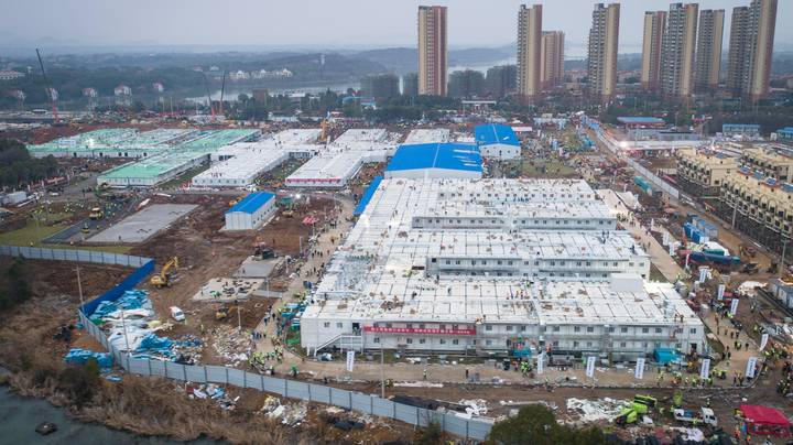 First Photographs Show Inside Of Wuhan Emergency Hospital
