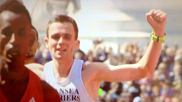 Member Of The Public Josh Griffiths Is The First British Man To Finish London Marathon Ahead Of Elites