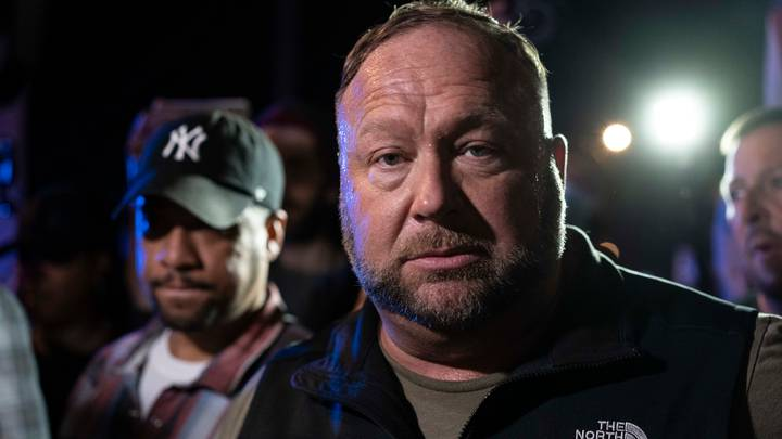 Alex Jones Says Joe Biden Will Leave The White House 'One Way Or Another'