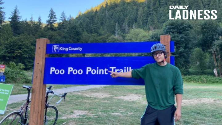 ​Man Cycles From Poo Poo Point To Pee Pee Creek To Raise Money For Yemen Crisis
