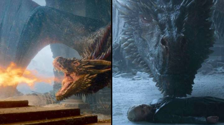 Game Of Thrones Script Reveals Why Drogon Burnt The Iron Throne