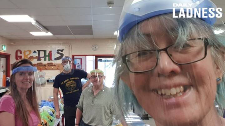 Teacher Uses School Lab To Make Hundreds Of Protective Masks For NHS