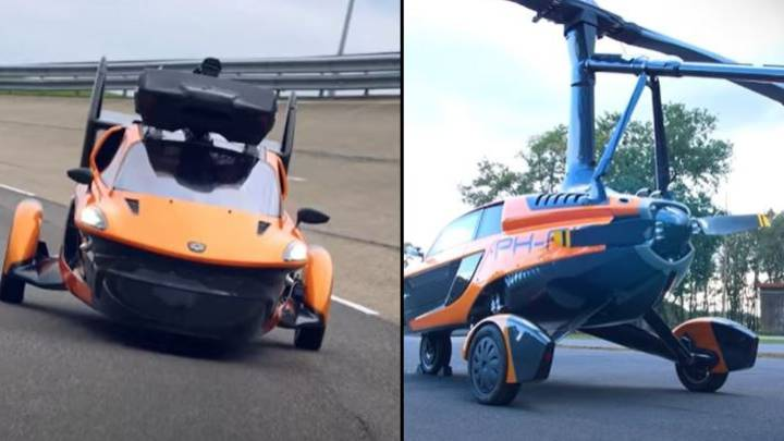Three-Wheeled Flying Car Wins Approval To Drive On Roads