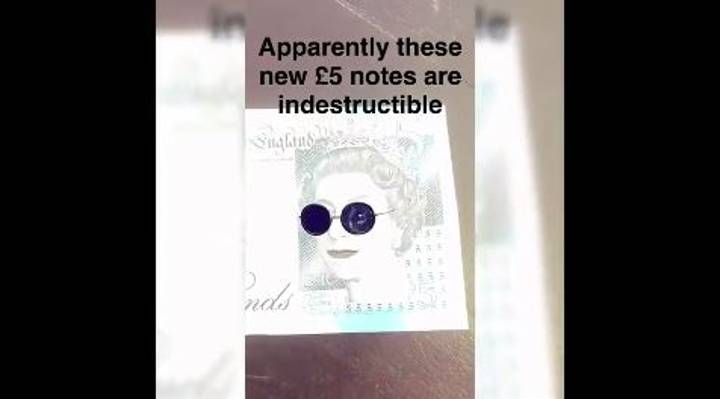 WATCH: We Tried To Destroy The New Fiver And It Didn't End Well