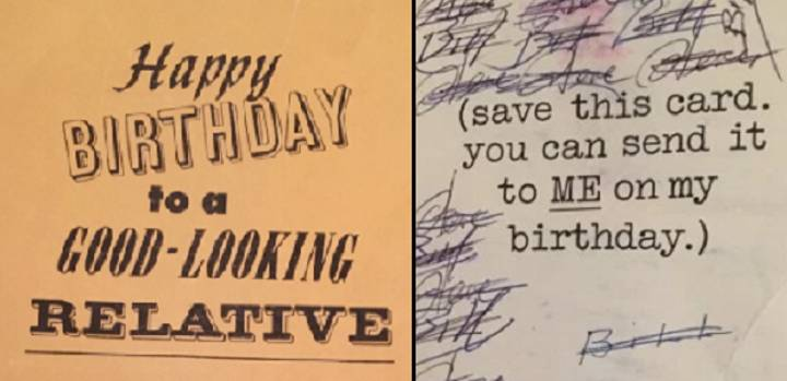 These Lads Have Been Sending Each Other The Same Birthday Card For 47 Years