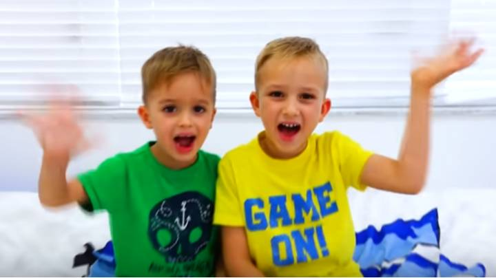 Highest Earning YouTubers Per Video Are Brothers Aged Four And Six