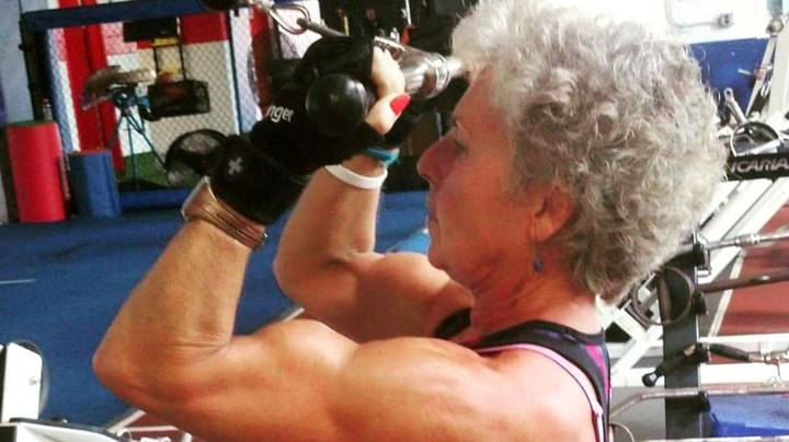 Record-Breaking Powerlifting Grandma Says She Feels Better Now Than 30 Years Ago