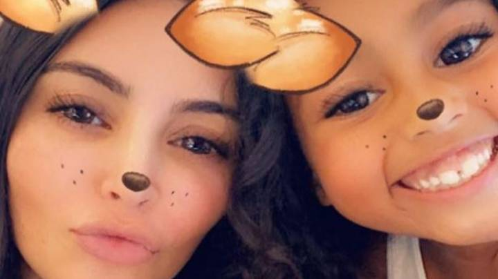 Kim Kardashian Accused Of Posting Fake Painting From 7-Year-Old Daughter