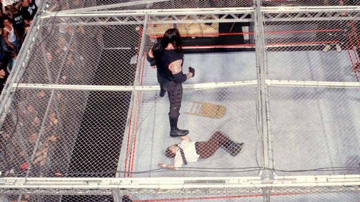 It's Twenty Years Since That Undertaker V Mankind Hell In A Cell Match
