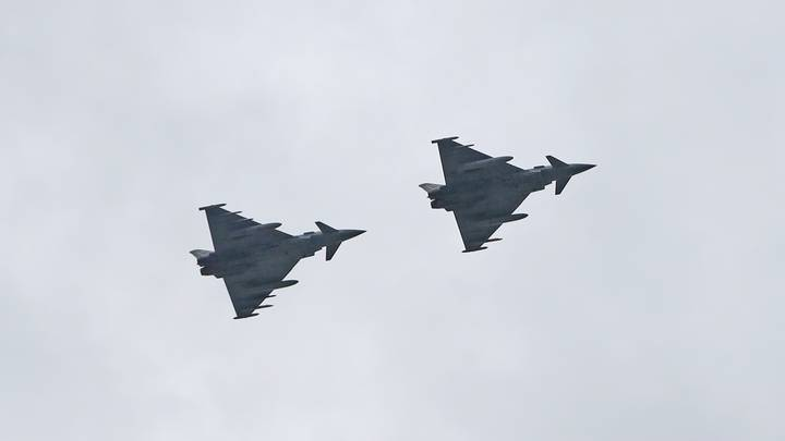 Sonic Boom Heard Over London And Cambridge After Fighter Jets Scrambled