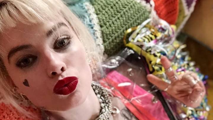 Margot Robbie Shares Sneak Peek Of Harley Quinn In Birds Of Prey