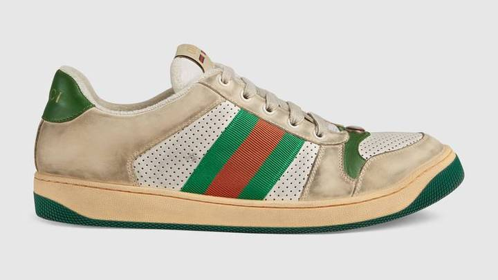 Gucci Is Selling Dirty-Looking Trainers For £615