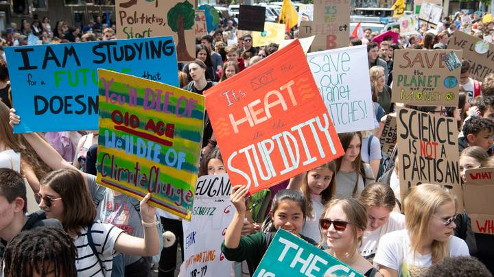 Thousands Of Aussie Students Will March Through The Streets Today For Climate Change