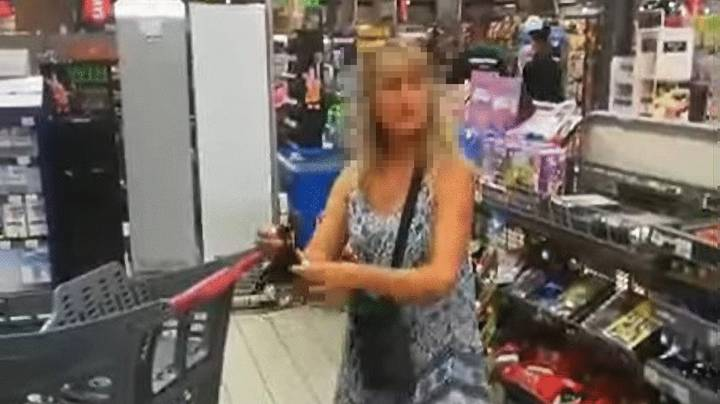 Shopper Removes Underwear To Use As Makeshift Face Mask In Supermarket