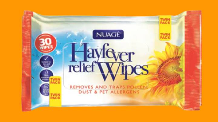 Hay Fever Sufferers Praise 'Amazing' £1.99 Pollen Wipes