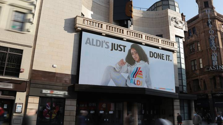 Aldi Takes On Nike With 'Just Done It' Slogan For New Loungewear Collection