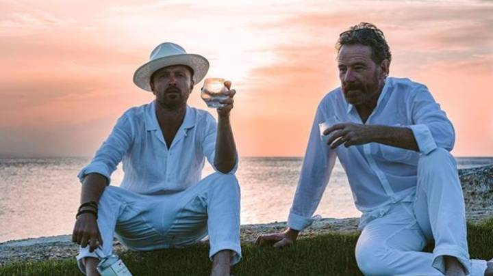 Aaron Paul Celebrates 40th Birthday With Bryan Cranston On Incredible 10 Day Trip