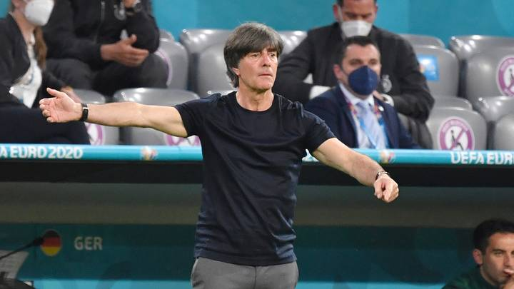 Joachim Löw Gave Questionable Excuse For Scratching And Sniffing