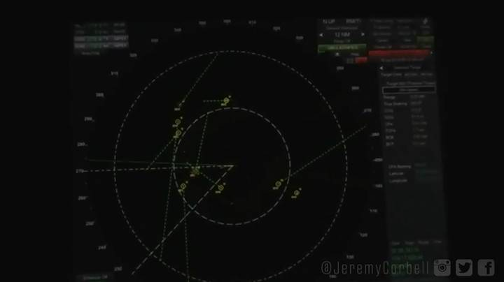 Newly Released Radar Footage Shows UFOs 'Swarming' Navy Ship, Filmmaker Claims