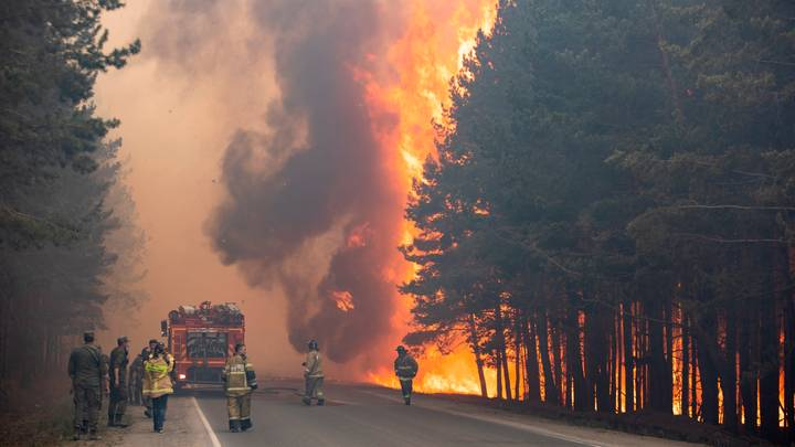 Siberia Is On Fire After Hottest And Driest Month In 133 Years