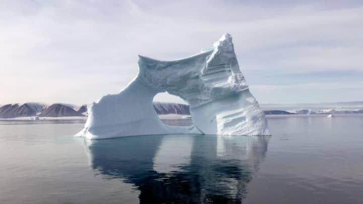 Drone Footage Reveals Impact Of North Pole Heatwave On Arctic Ice Cap