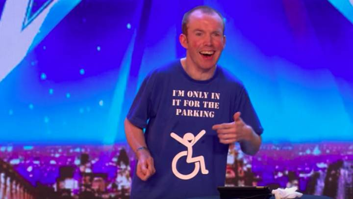 'Britain's Got Talent' Judges Wowed By Disabled Comedian Lee Ripley