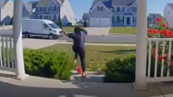 Amazon Delivery Driver Follows Bizarre Instructions Added To Order By Prankster Son