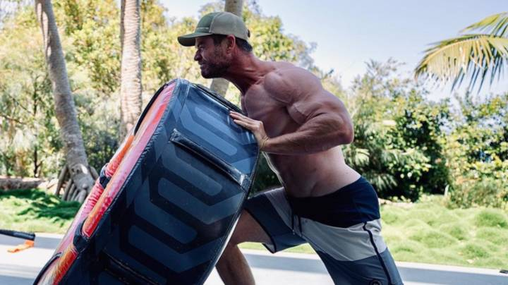 Chris Pratt Pleads With Chris Hemsworth To 'Stop Working Out'