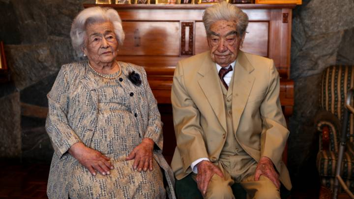 Couple With Combined Age Of 214 Named World's Oldest Couple