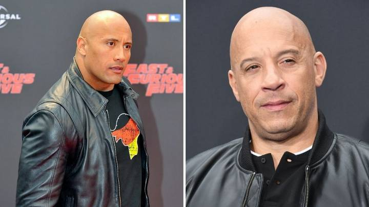 Why Do Vin Diesel And The Rock Have Beef?