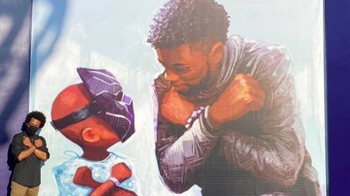 Disneyland Unveils Incredible Mural Paying Tribute To The Late Chadwick Boseman