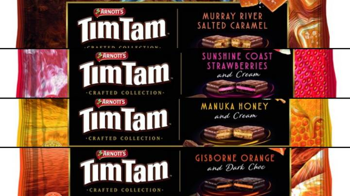 Four New Tim Tam Flavours Are Dropping Next Week