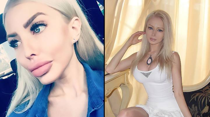 Two 'Human Barbies' Are Competing With Each Other On Instagram