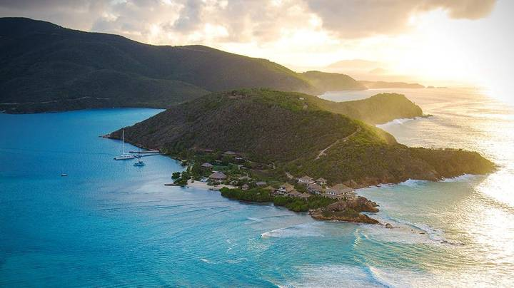 Richard Branson Is Renting Out His Second Private Island For The First Time Ever