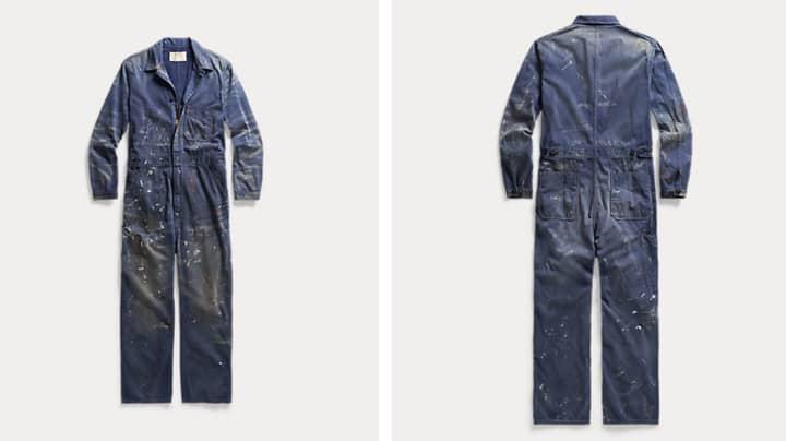 Ralph Lauren Is Selling £620 Paint-Splattered Overalls
