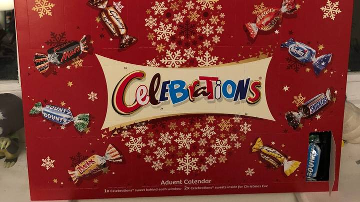 Celebrations Advent Calendars Are 'Ruining Christmas' After People Get Bounty Two Days In A Row
