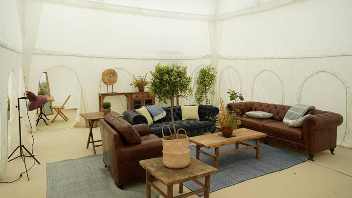 Welcome To Glastonbury's Poshest Tent Which Costs £25,000 For The Weekend