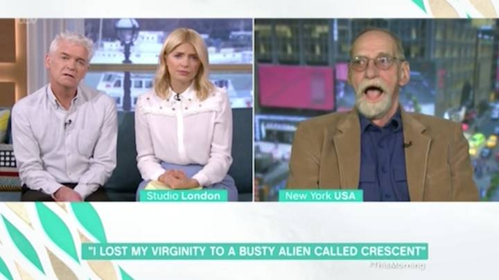 Holly And Phil Met Man Who Claims He Lost His Virginity To An Alien